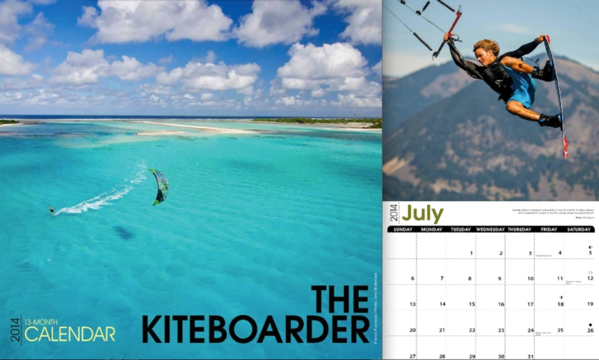 2014 The Kiteboarder Calendar